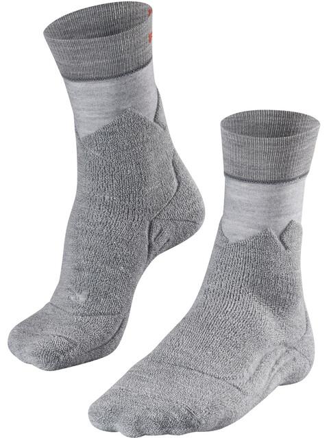 Falke W's TK Mountain Trekking Socks Middle Grey Melange